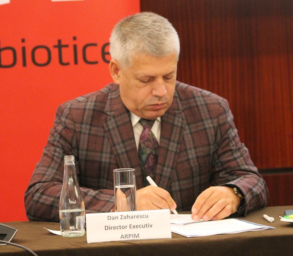 Dan Zaharescu, directorul executiv al ARPIM, Asociația Română a Producătorilor Internaționali de Medicamente