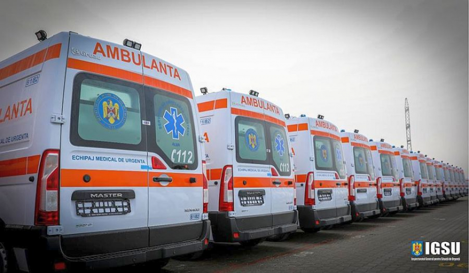Ambulanțele tip B2 sunt deservite de achipaj cu asistent medical. FOTO: IGSU