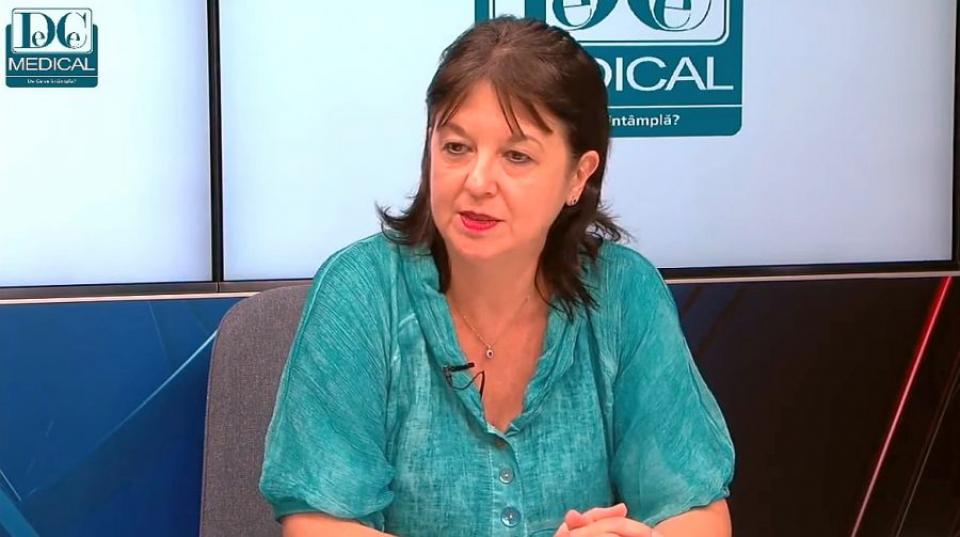Prof dr Gabriela Radulian. Foto: DC Medical