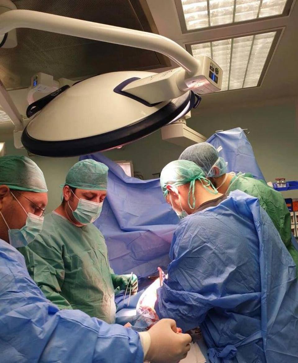 Imagine din Spitalul Județean de Urgență   FOTO: Facebook Agenția Națională de Transplant