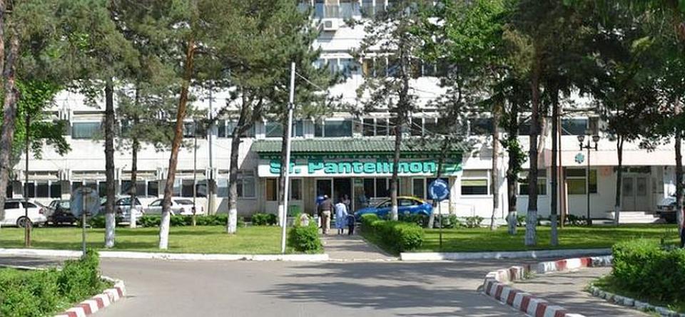 Spitalul Județean de Urgență Sf Pantelimon din Focșani, Vrancea. Foto: SJU Focșani