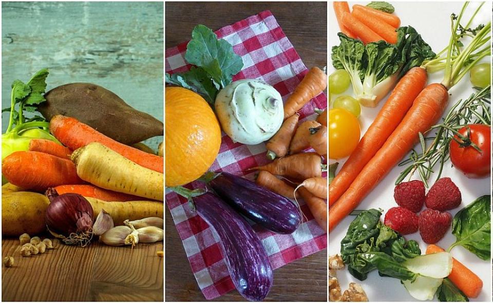 Vitamine și minerale putem obține din legume și fructe