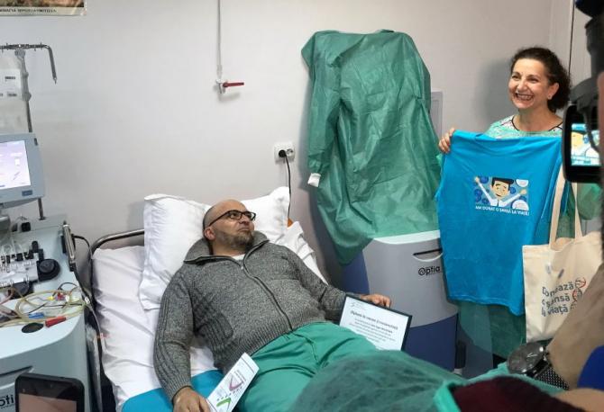 Ioan Eugen Moldovan, bărbatul român care a donat celule stem pentru un copilaș din Italia