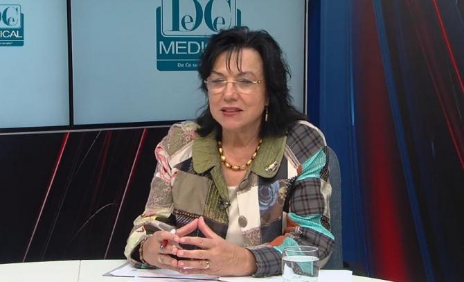 Prof dr Maria Dorobanțu. Foto: DC Medical