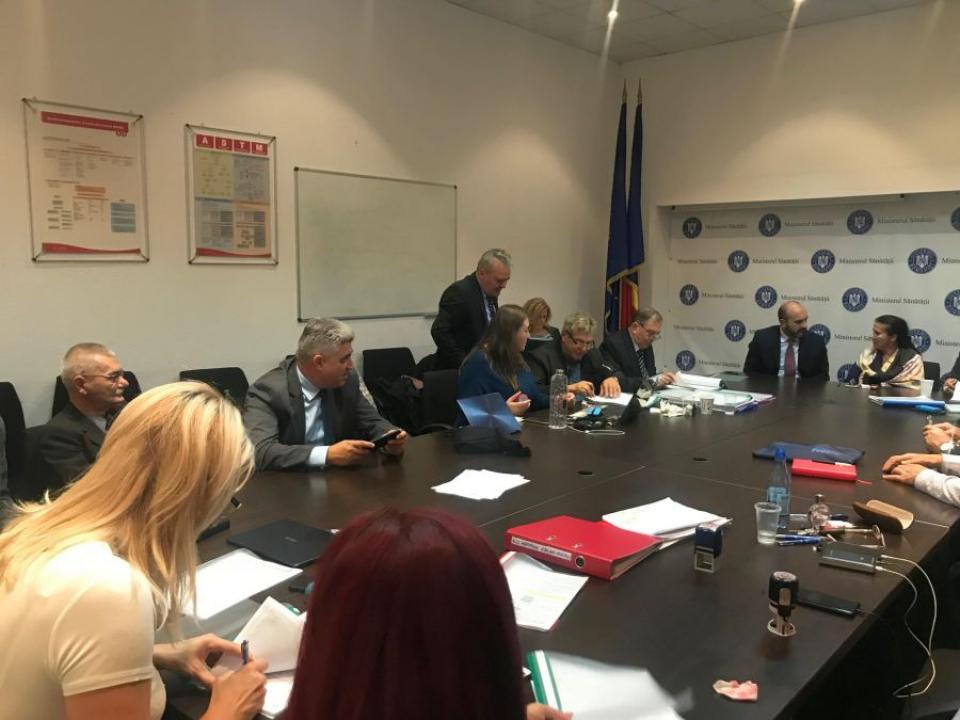 Contractul colectiv de muncă din Sănătăate a fost semnat. Foto: Federația Solidaritatea Sanitara