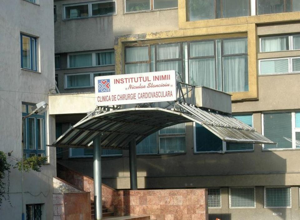 Institutul Inimii din Cluj-Napoca. Foto: Facebook