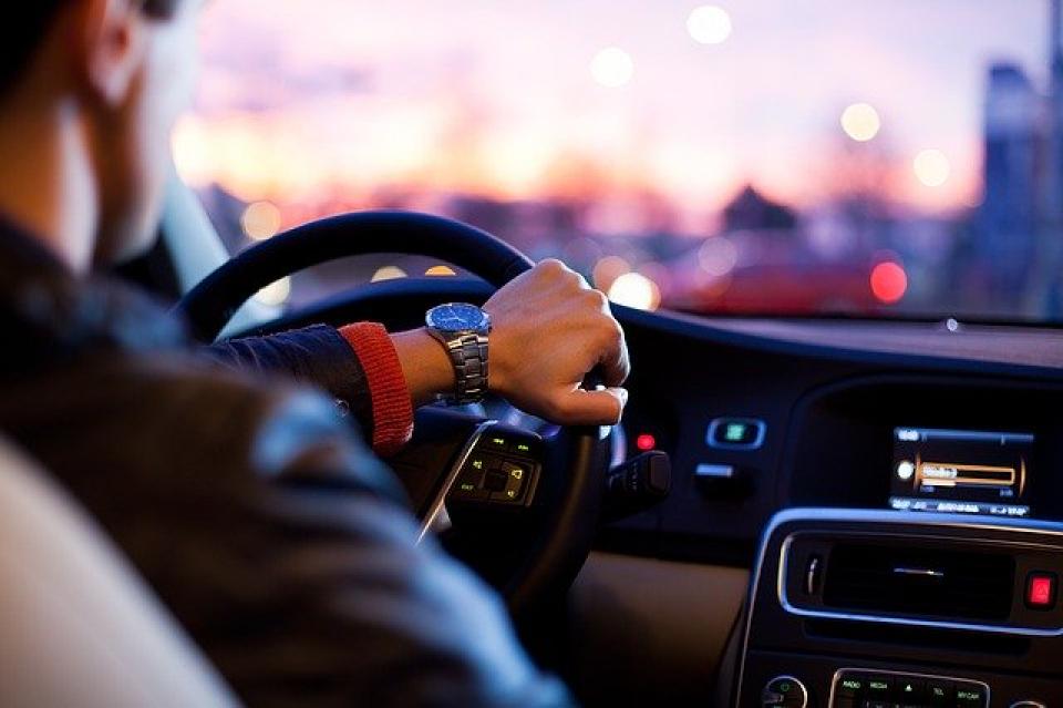 Șofer în mașină  FOTO: Pixabay