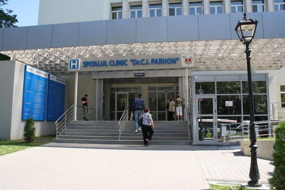 Spitalul Clinic C I Parhon din Iași. Foto: FACEBOOK