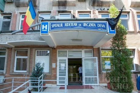 Spitalul Județean Deva  FOTO: Facebook ANT