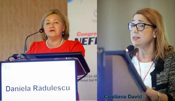 DR Daniela Rădulescu și Dr Cristiana David