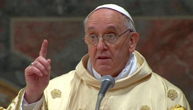Papa Francisc. Foto: DC News
