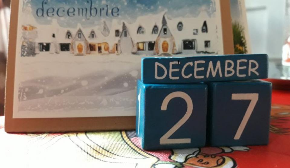 27 decembrie calendar. Foto: DC Medical