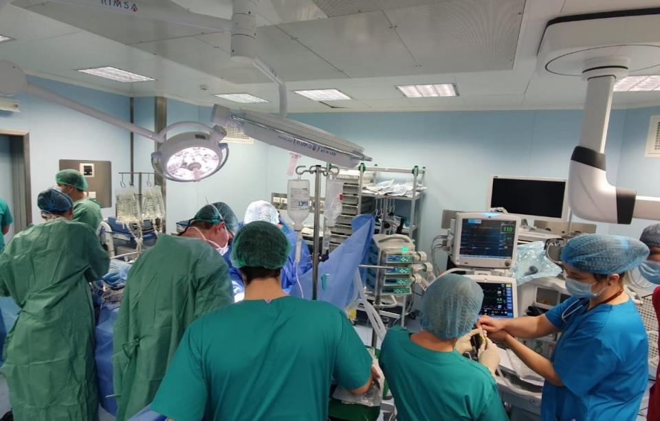 Prelevare organe Spitalul Universitar de Urgență București