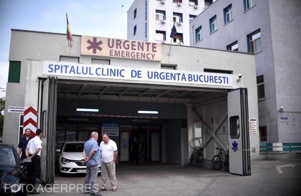 Spitalul de Urgență Floreasca. Foto: Agerpres