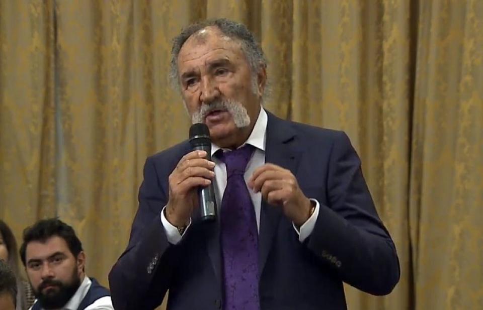 Ion Țiriac. Foto: DC Medical