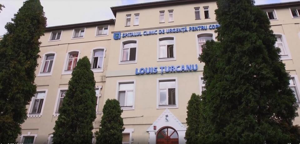 "Spitalul de Copii ""Lous Țurcanu"" Timișoara    Foto: https://www.spital-copii-timisoara.info/"