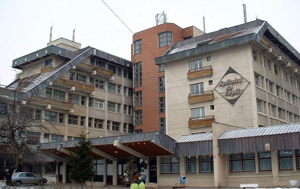 Spitalul de copii Brașov   Foto: http://www.spitalcopiibrasov.ro/