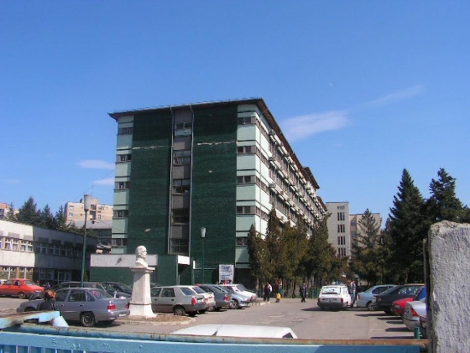 Spitalul Județean Slatina  FOTO: DSP Olt
