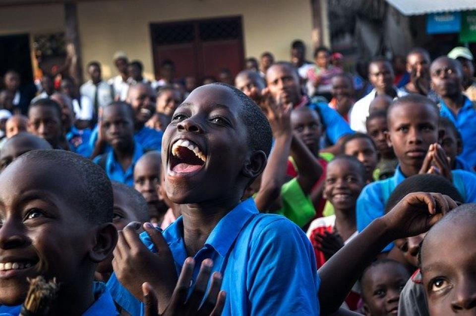 Copii din Africa  FOTO: Pixabay