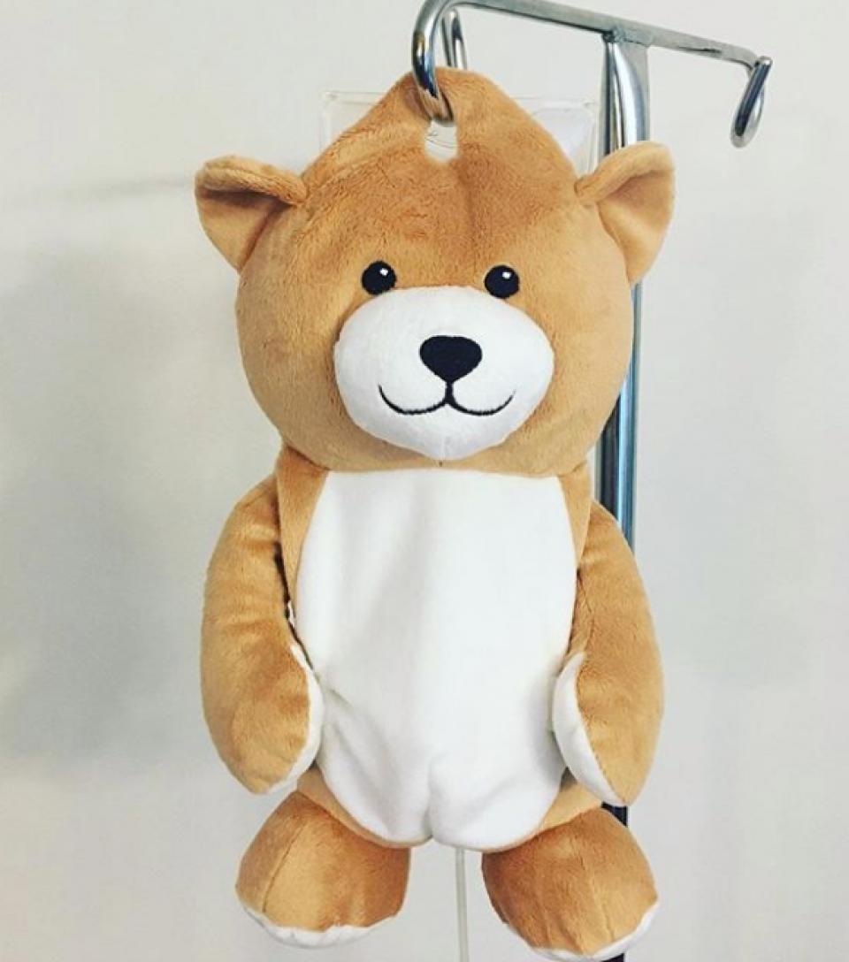 Ursulețul creat de o puștoaică din State        FOTO: Facebook Medi Teddy