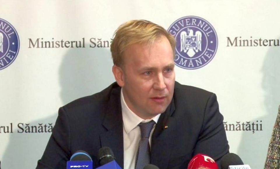 Dr Victor Costache, ministrul Sănătății.