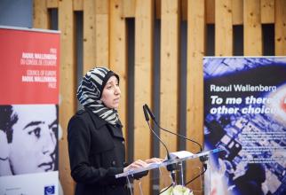 Amani Ballour FOTO: Facebook Consiliul Europei
