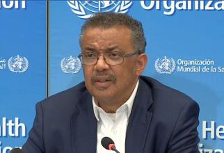 Dr Tedros Adhanom Ghebreyesus, directorul general al OMS
