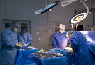 Prelevare de organe la Spitalul Militar Central din Capitală. Foto: SUUMC/Daniela Gheorghe
