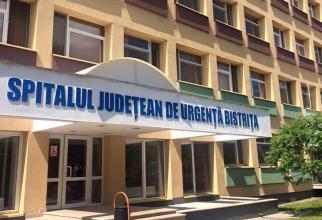 Spitalul Județean de Urgență Bistrița-Năsăud. Foto: Facebook/Gabriel Lazany