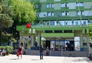 Spitalul Județean de Urgență Tikmișoara. Foto: Facebook
