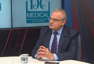 Prof dr Vasile Cepoi, președintele ANMCS. Foto: DC Medical