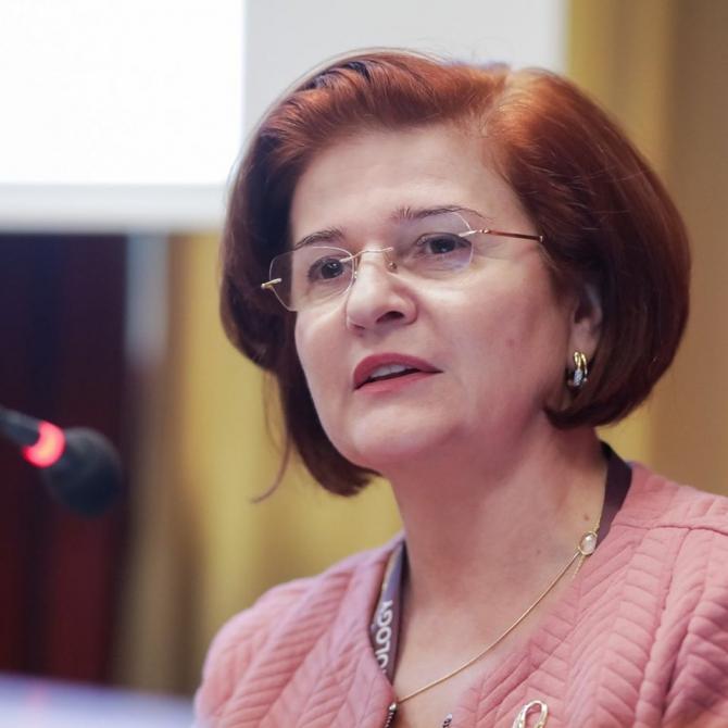 Cătălina Poiană, președintele Colegiului Medicilor București  FOTO:Facebook Cătălina Poiană