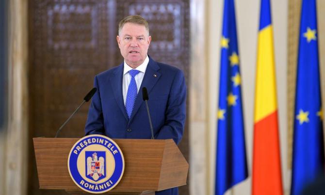 Președintele Klaus Iohannis. Foto: Președinție