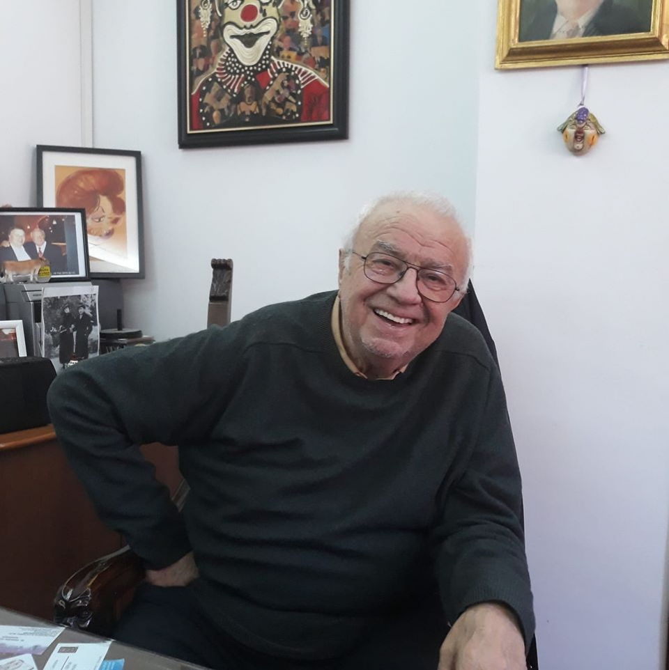 Alexandru Arșinel, victima unui fake news. Foto Facebook