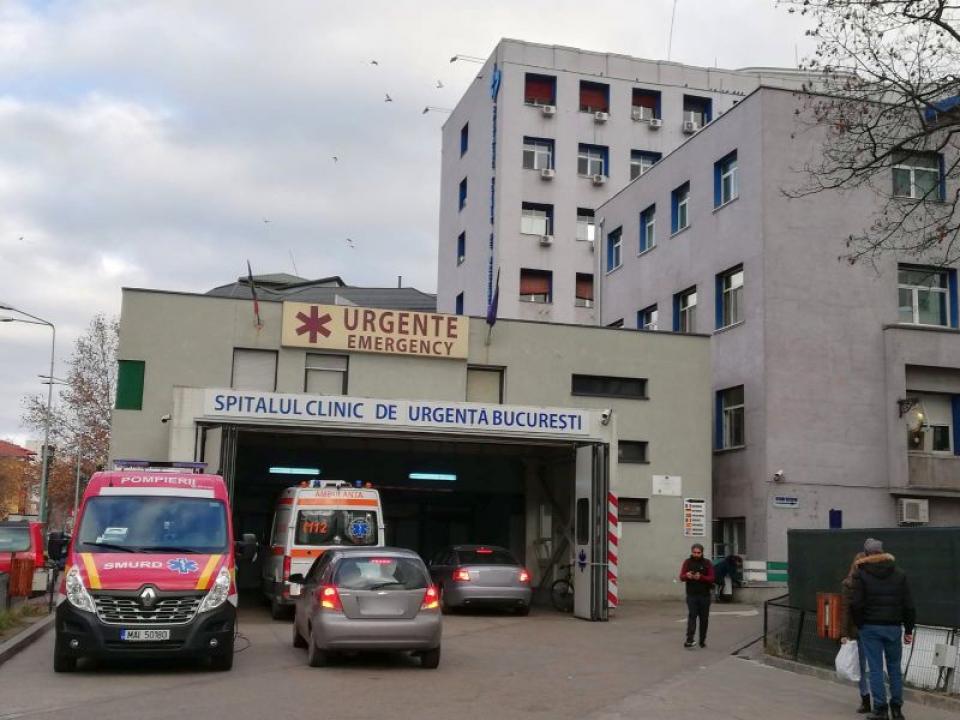 Spitalul de Urgență Floreasca are acreditarea suspendată temporar de către ANMCS