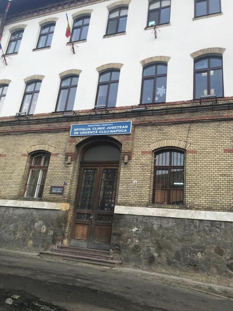 Spitalul Județean de Urgență Cluj-Napoca  FOTO: Facebook SCJ Cluj