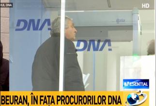 Mircea Beuran, la sediul DNA