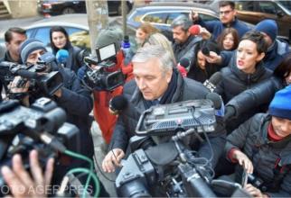 Mircea Beuran, la audieri. Foto: Agerpres