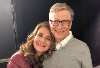 Melinda si Bill Gates. Foto: Facebook