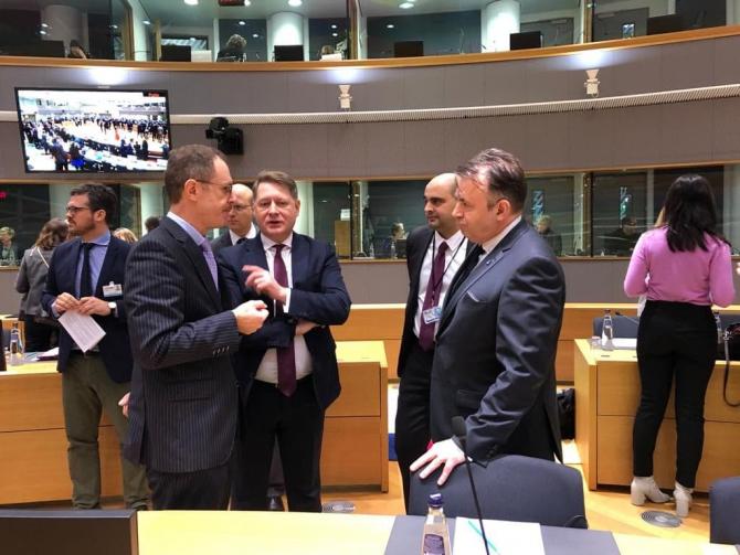 Discuții la Bruxelles  FOTO: Ministerul Sănătății