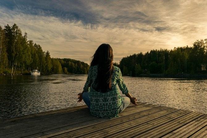 Meditație  FOTO: Pixabay