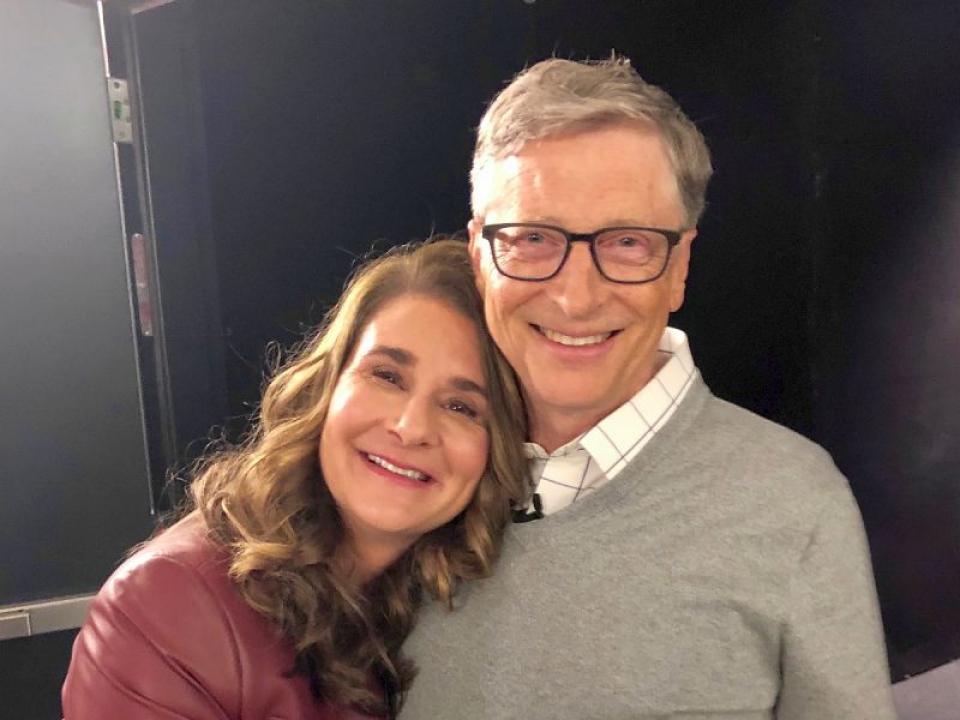 Melinda si Bill Gates. Foto: Facebook