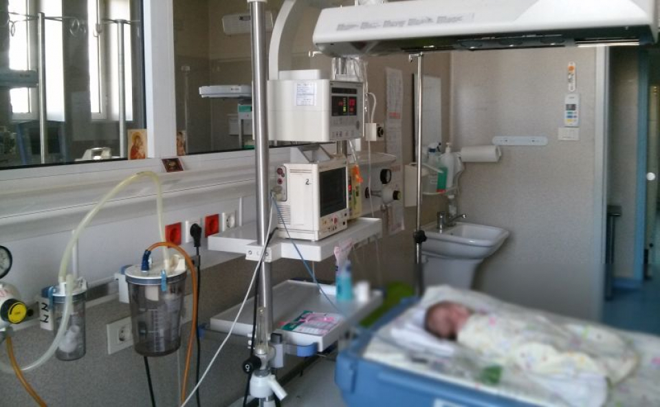 Sectia de Terapie Intensivă a Spitalului Grigore Alexandrescu din București