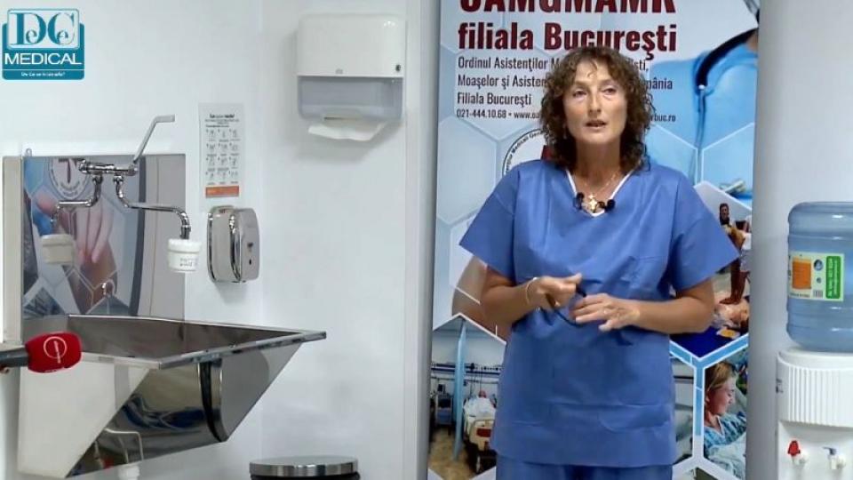 Asistent Ella Gorgonețu. Foto: DC Medical