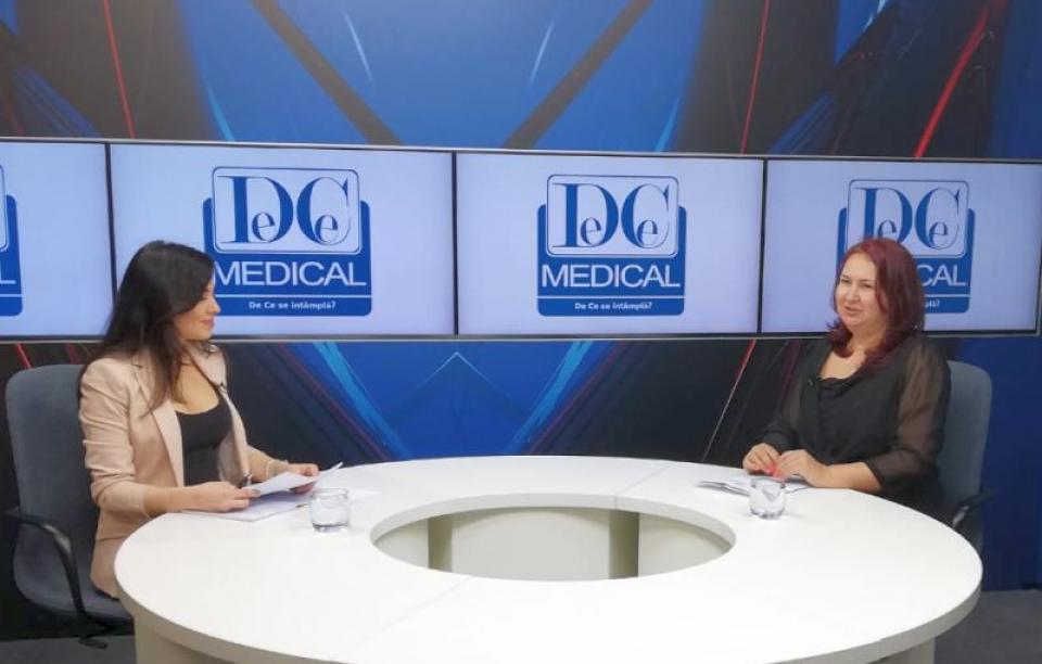 Dr Mirela Nicolae, la Interviurile DC News și DC Medical.