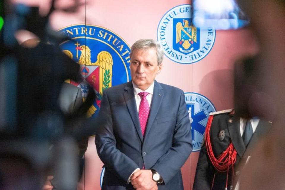 Ministrul de Interne Ion Marcel Vela. Foto: MAI
