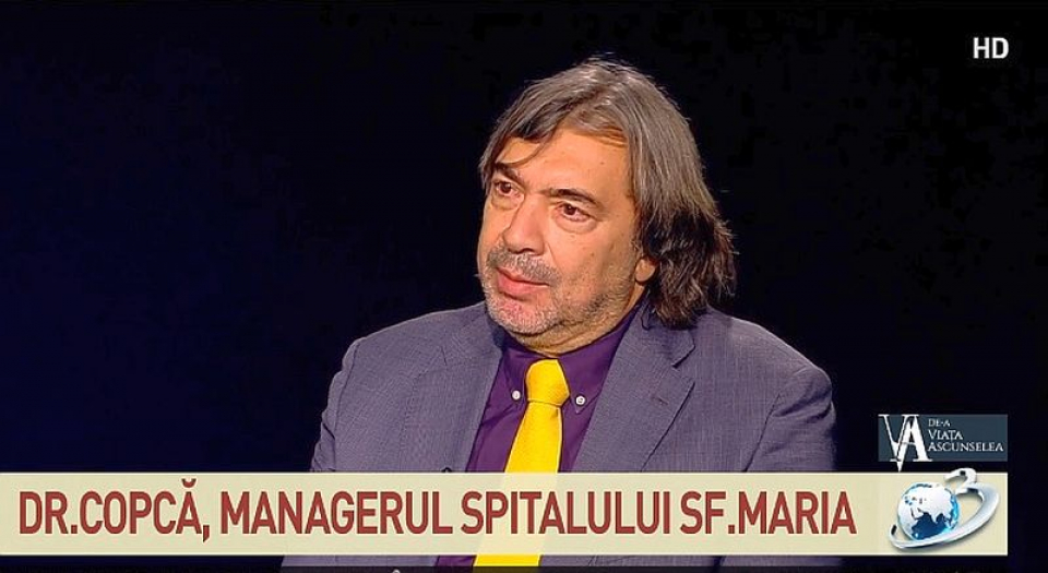 Dr Narcis Copcă. Foto: Antena3