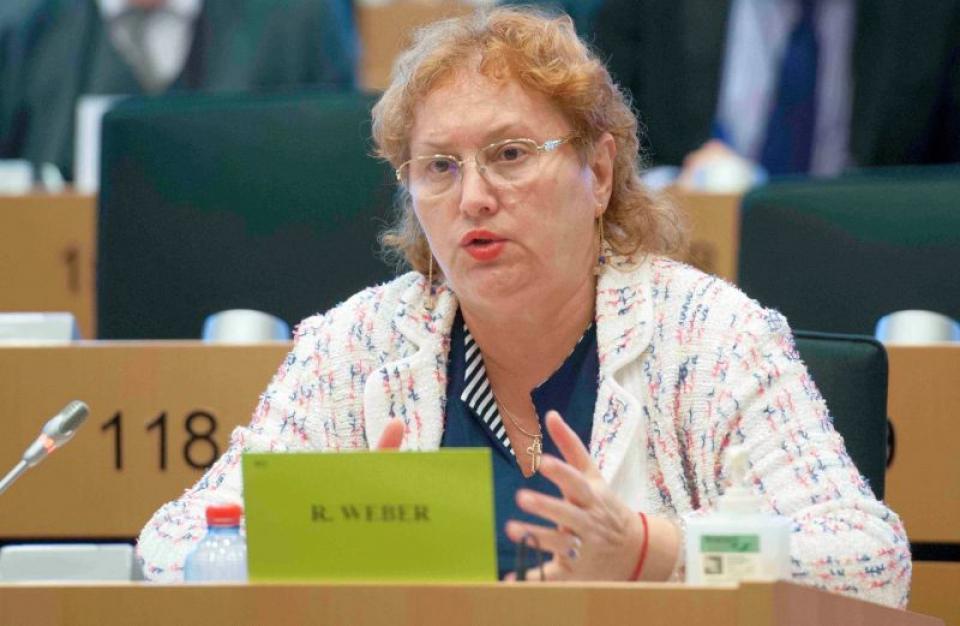 Renate Weber, Avocatul Poporului. Foto: Facebook