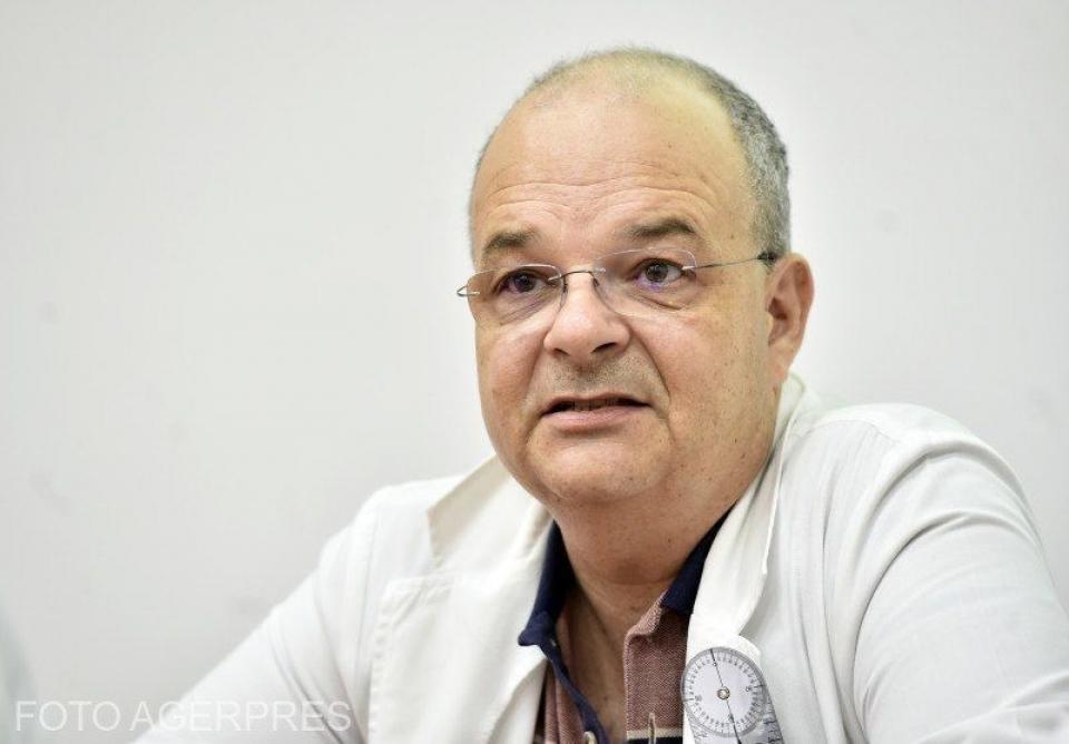 Dr Alexandru Ulici, managerul Spitalului Grigore Alexandrescu. FOTO: Agerpres