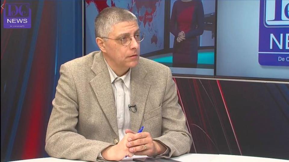 Val Vâlcu, realizatorul emisiunii Interviurile DC Medical